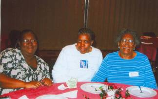 Shirley Patterson, Delores Jones, Lure Lean Patterson
